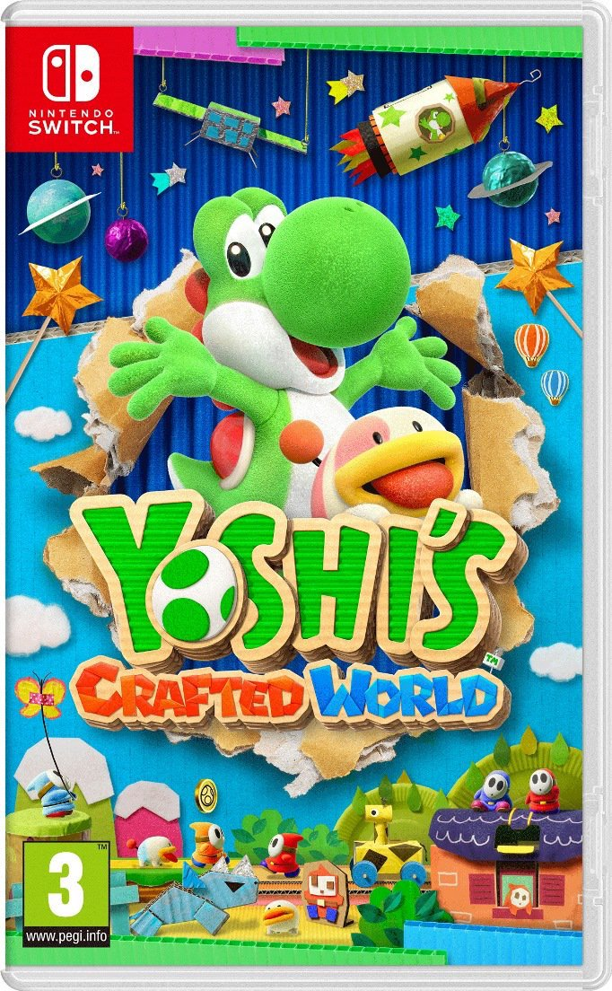 Jaquette Yoshi's Crafted World Nintendo Switch
