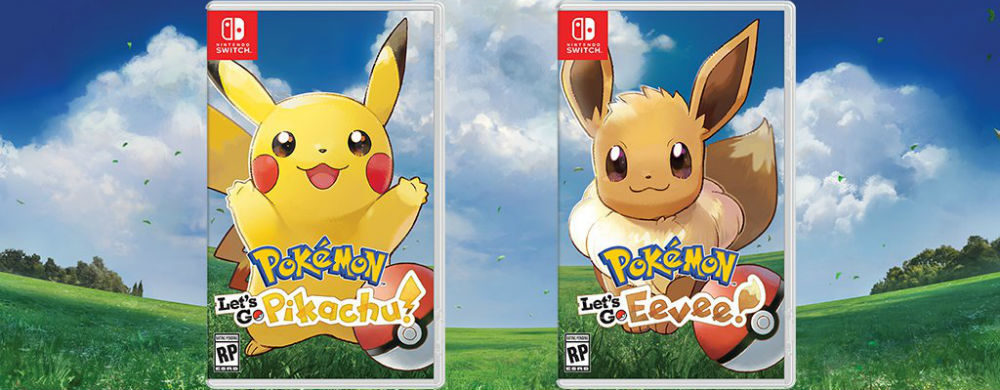 Pokemon Let's Go Evoli