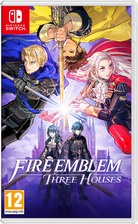 Fire Emblem Three Houses jaquette