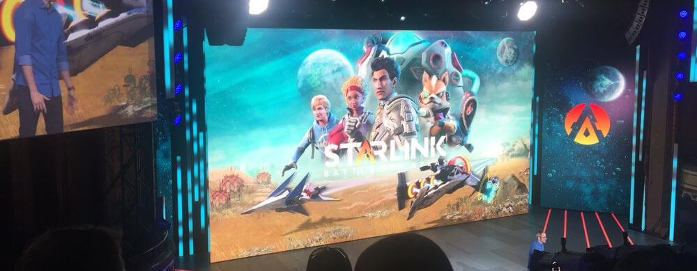 Starlink sur Nintendo Switch