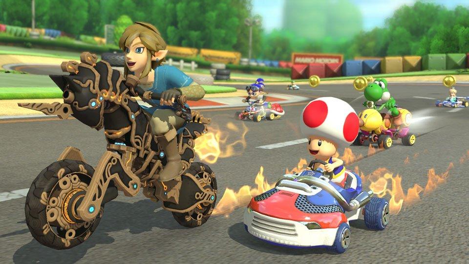 Breath of the Wild s'invite dans Mario Kart 8 Deluxe