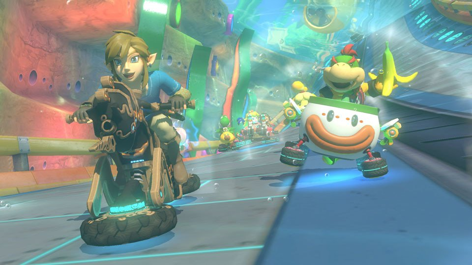 Breath of the Wild s'invite dans Mario Kart 8 Deluxe