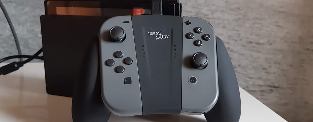Support de recharge / grip Joy-Con par SteelPlay
