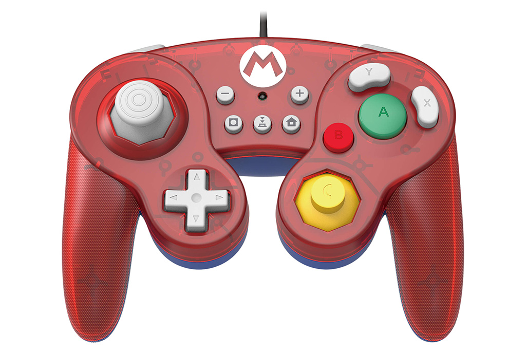 Manette Pokémon Mario Switch par Hori