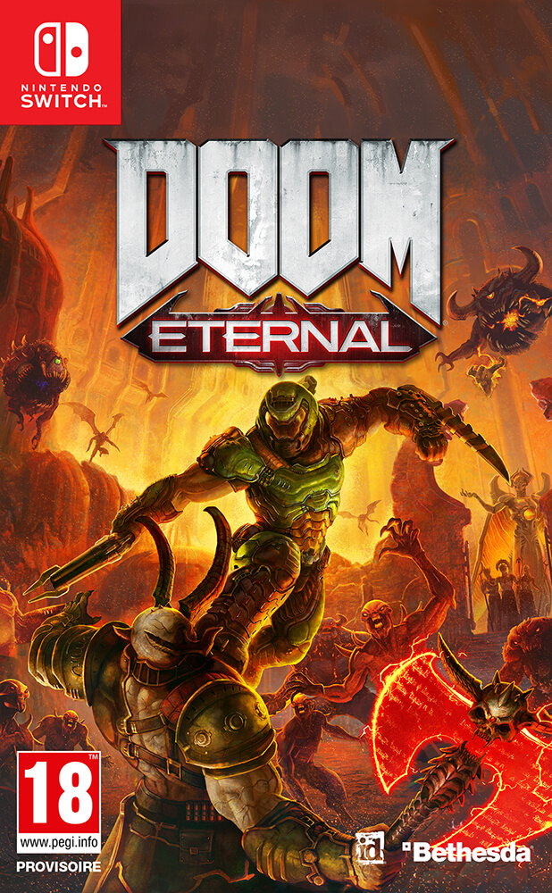 DOOM Eternal Nintendo Switch Box Art