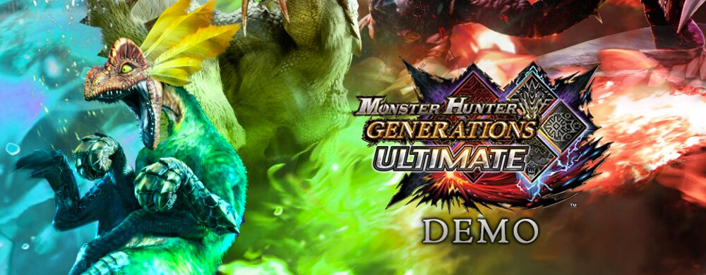 Demo Monster Hunter Generations Ultimate Nintendo Switch