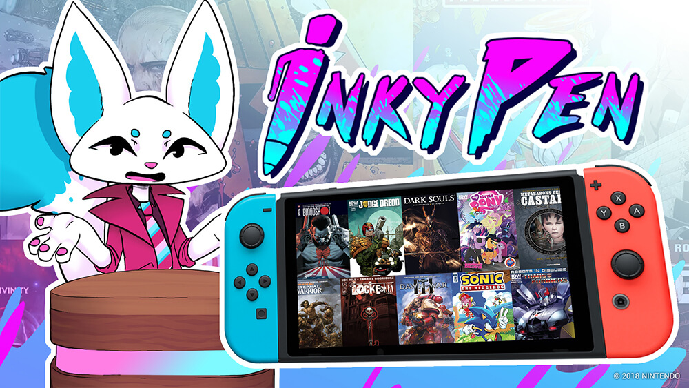 InkyPen Keyart Nintendo Switch
