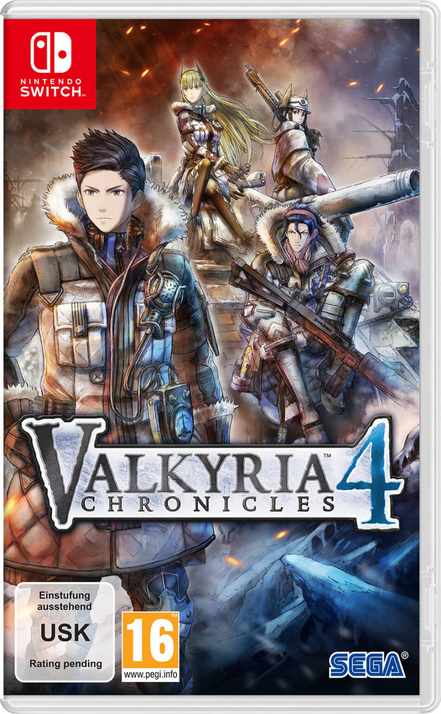 Jaquette Valkyria Chronicles 4 Nintendo Switch