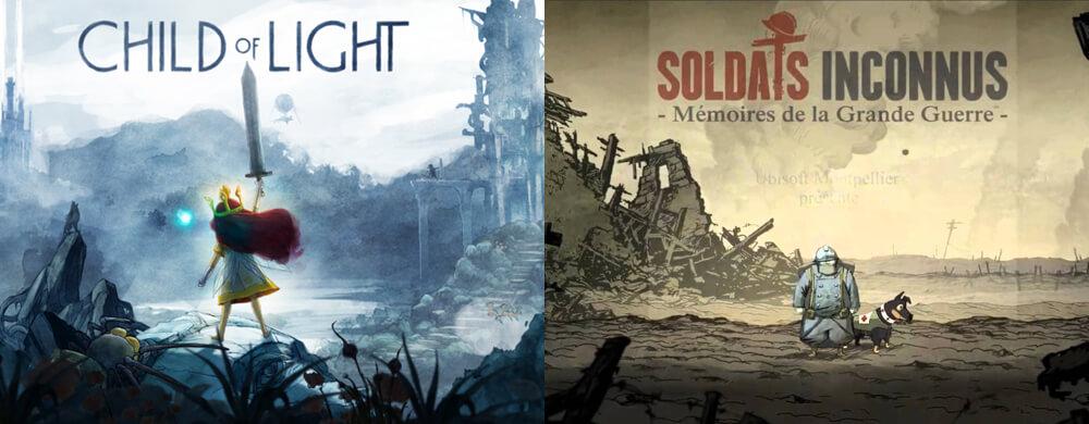 Ubisoft child of light soldats inconnus nintendo switch