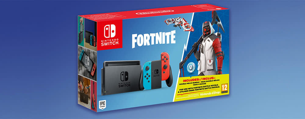 Bundle fortnite Nintendo Switch