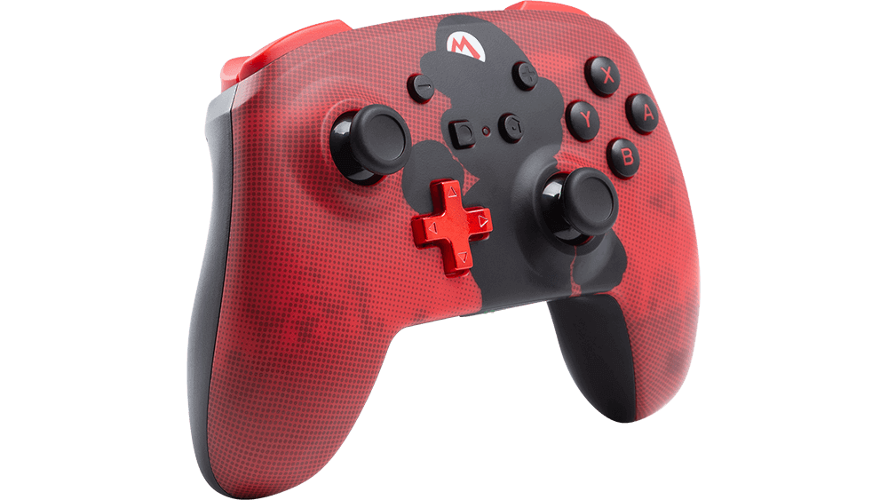 Manette PowerA Nintendo Switch - Mario