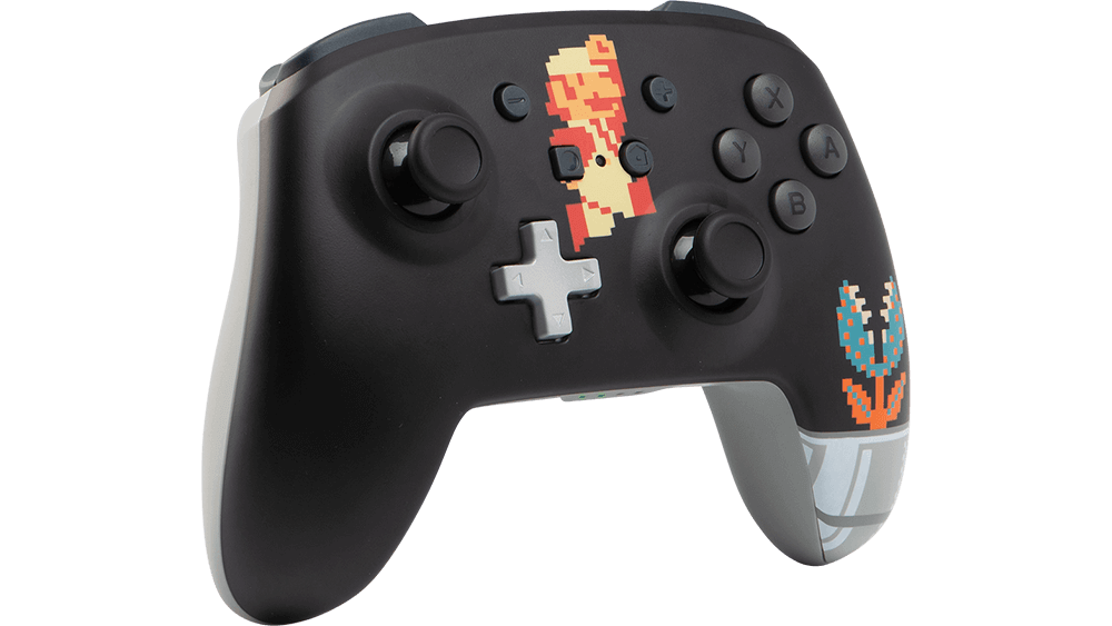 Manette PowerA Nintendo Switch - Mario Rétro
