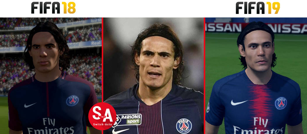 Cavani FIFA 19 Nintendo Switch