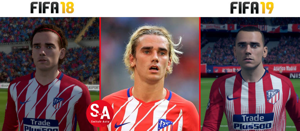 Griezmann FIFA 19 Nintendo Switch