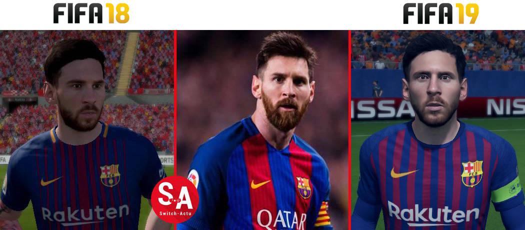 Messi FIFA 19 Nintendo Switch