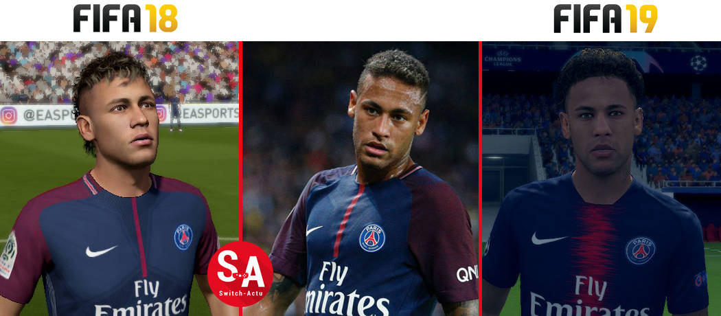 Neymar FIFA 19 Nintendo Switch