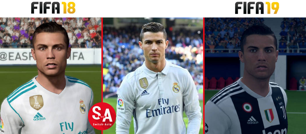 Ronaldo FIFA 19 Nintendo Switch
