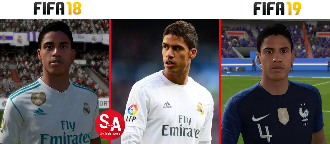 Varane FIFA 19 Nintendo Switch