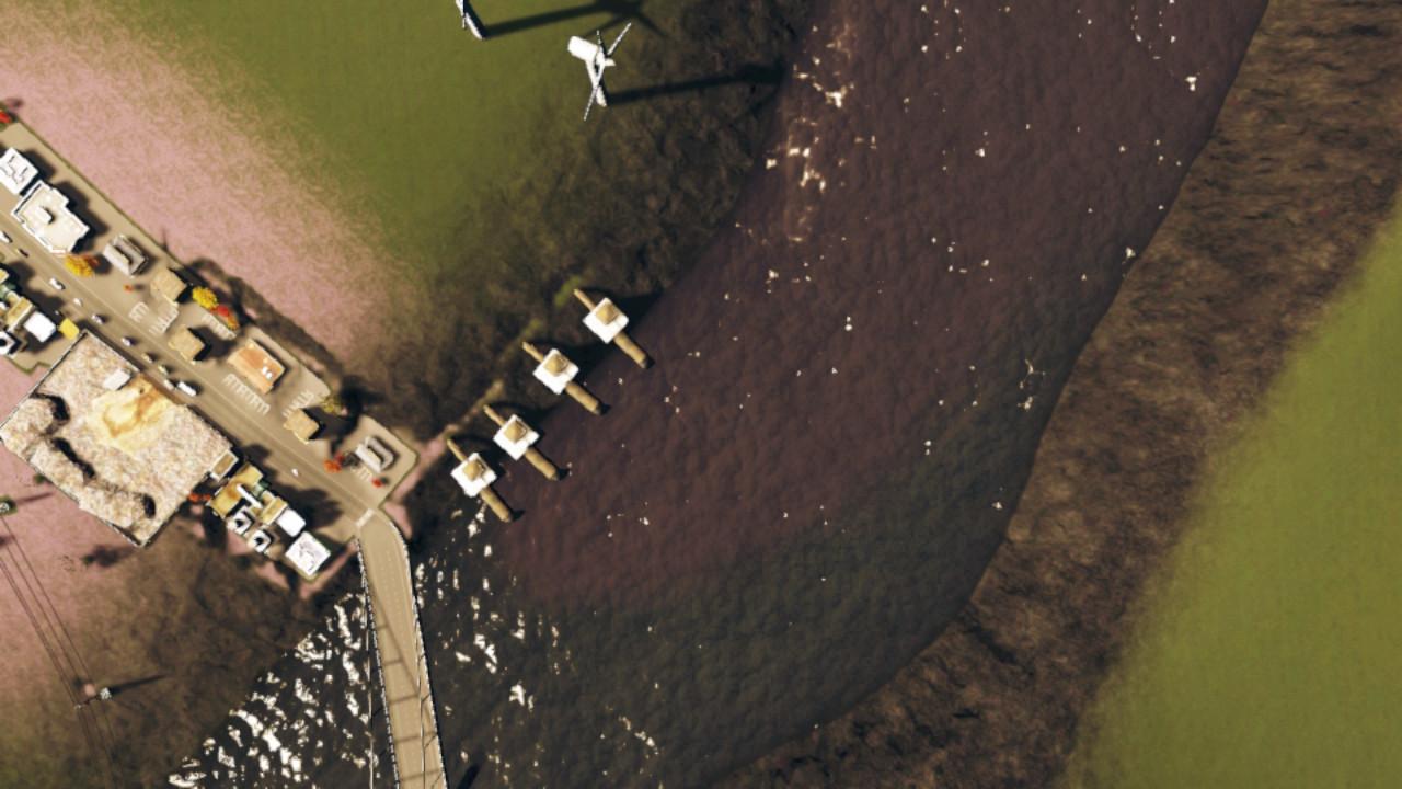 La pollution de l'eau évacuée