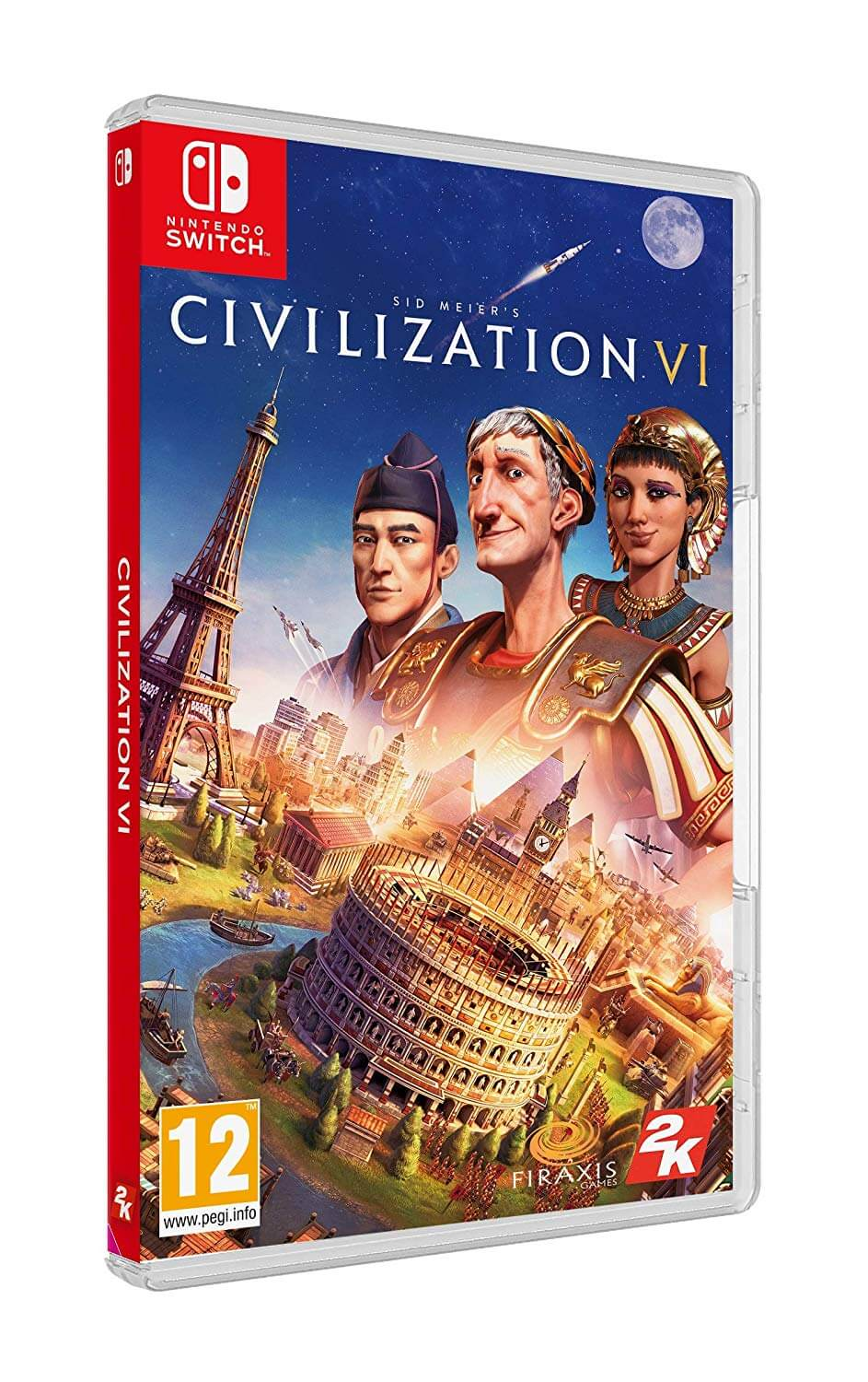 Civilization VI boxart Nintendo Switch