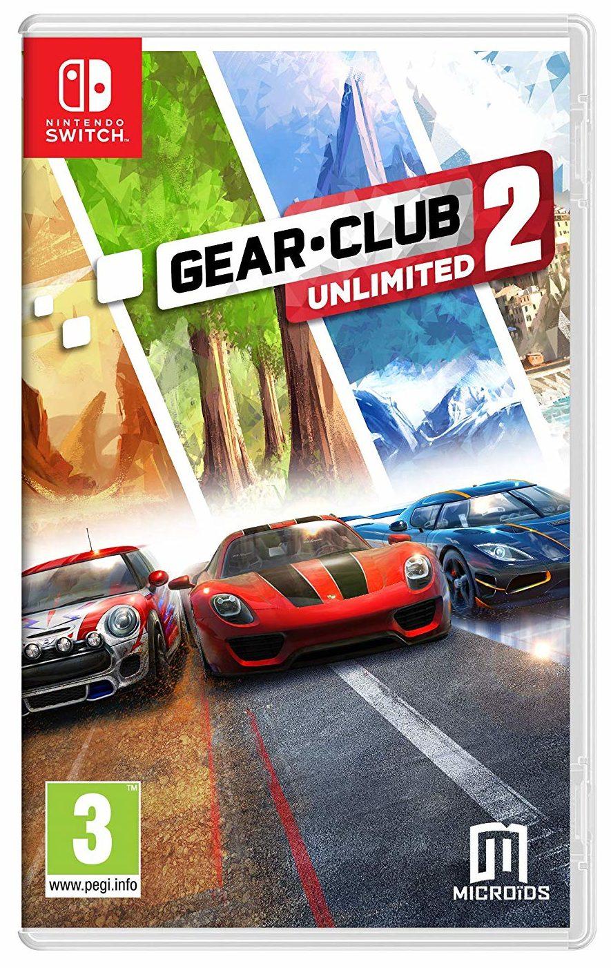 Boxart Gear.Club Unlimited 2 Nintendo Switch