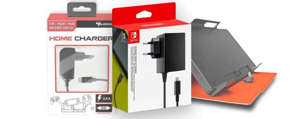 Avec quoi recharger une Nintendo Switch