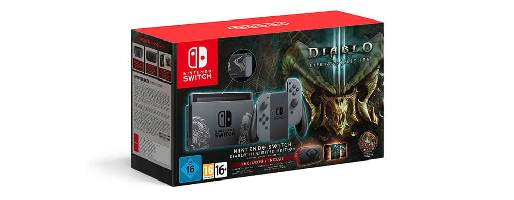 Illustration Nintendo Switch pack Diablo III