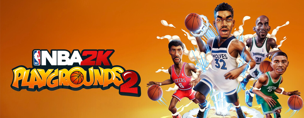 NBA 2K Playgrounds 2 Logo Nintendo Switch