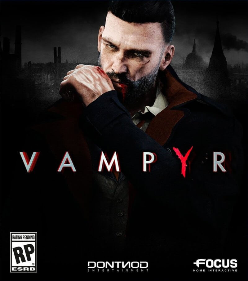 Vampyr boxart Nintendo Switch