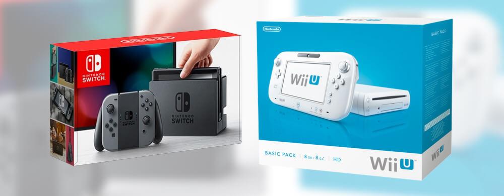 Switch et Nintendo Wii U
