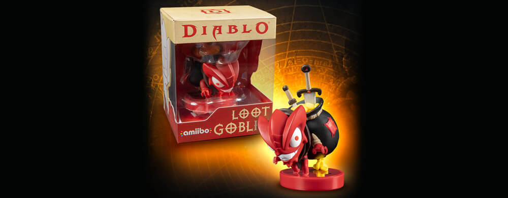 Amiibo Diablo Nintendo Switch Loot Goblin