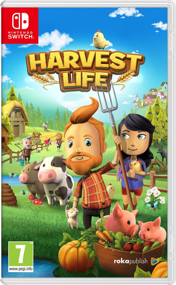 Boxart Harvest Life Nintendo Switch