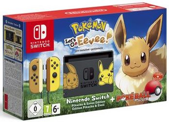 Nintendo Switch - Pokémon Lets Go ! Évoli