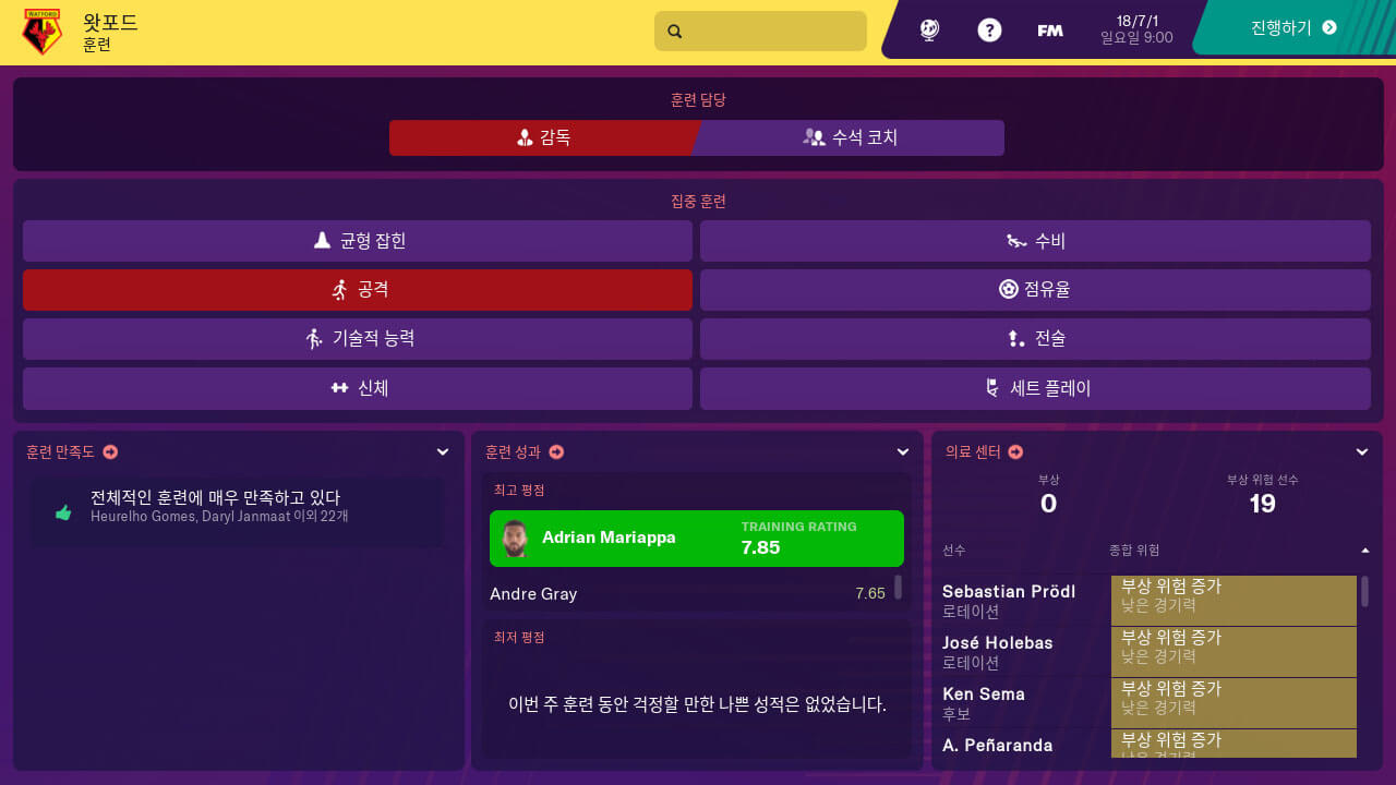 Football Manager 2019 Touch - Nintendo Switch