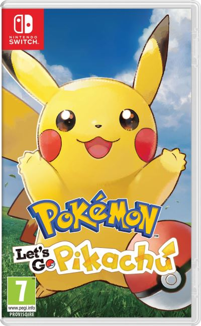 Pokémon Let's Go Pikachu FNAC