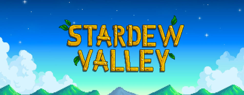 Logo Stardew Valley Nintendo Switch