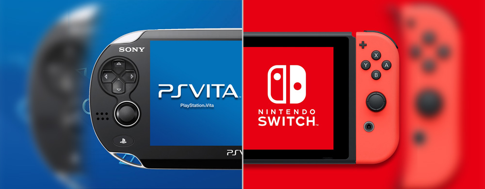 PS Vita et Nintendo Switch