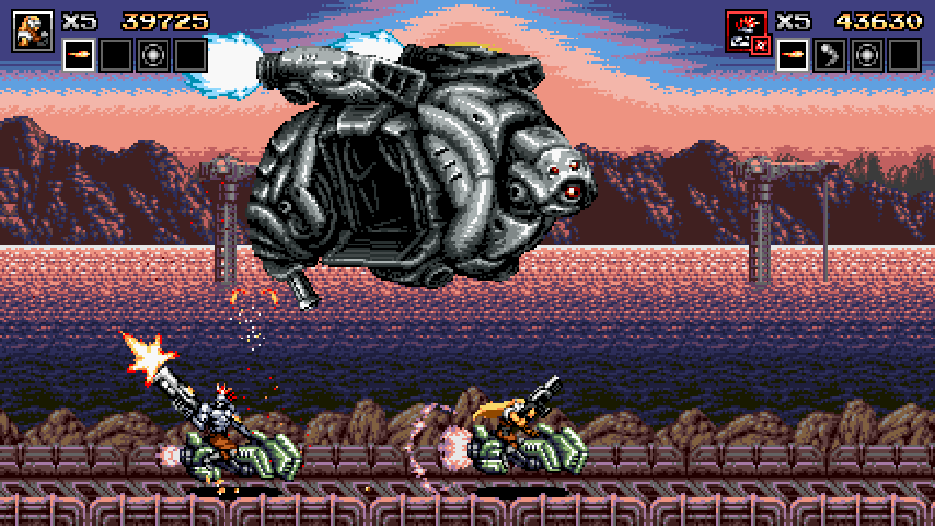 Blazing Chrome - Nintendo Switch