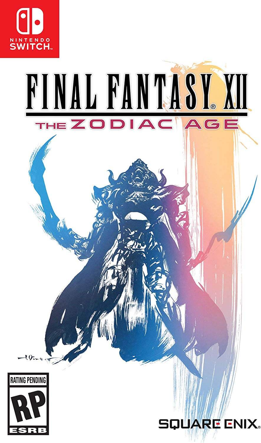 Final Fantasy XII : The Zodiac Age Nintendo Switch boxart