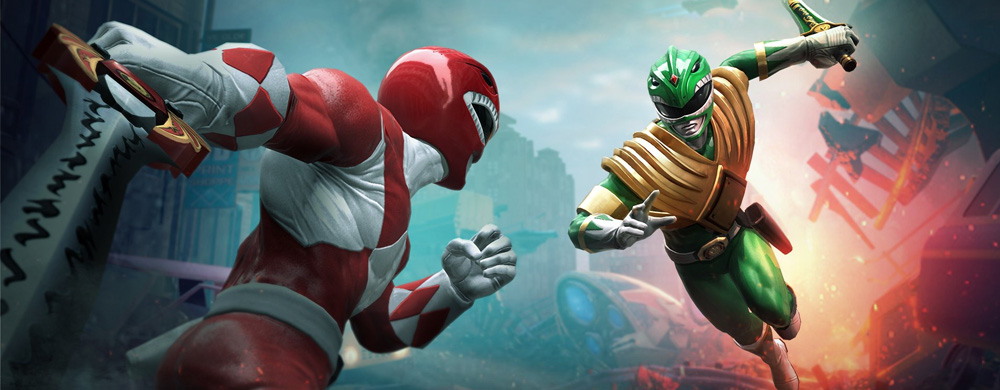 Power Rangers Nintendo Switch