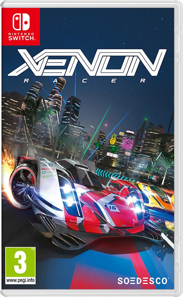Xenon Racer jaquette Nintendo Switch