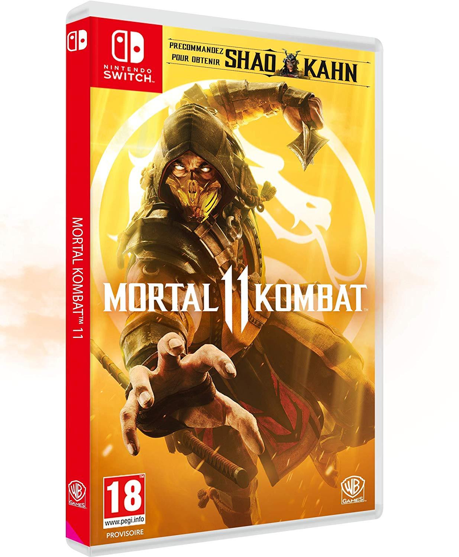Mortal Kombat 11 jaquette switch