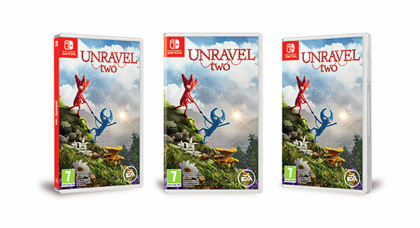 Boxart Unravel Two Nintendo Switch
