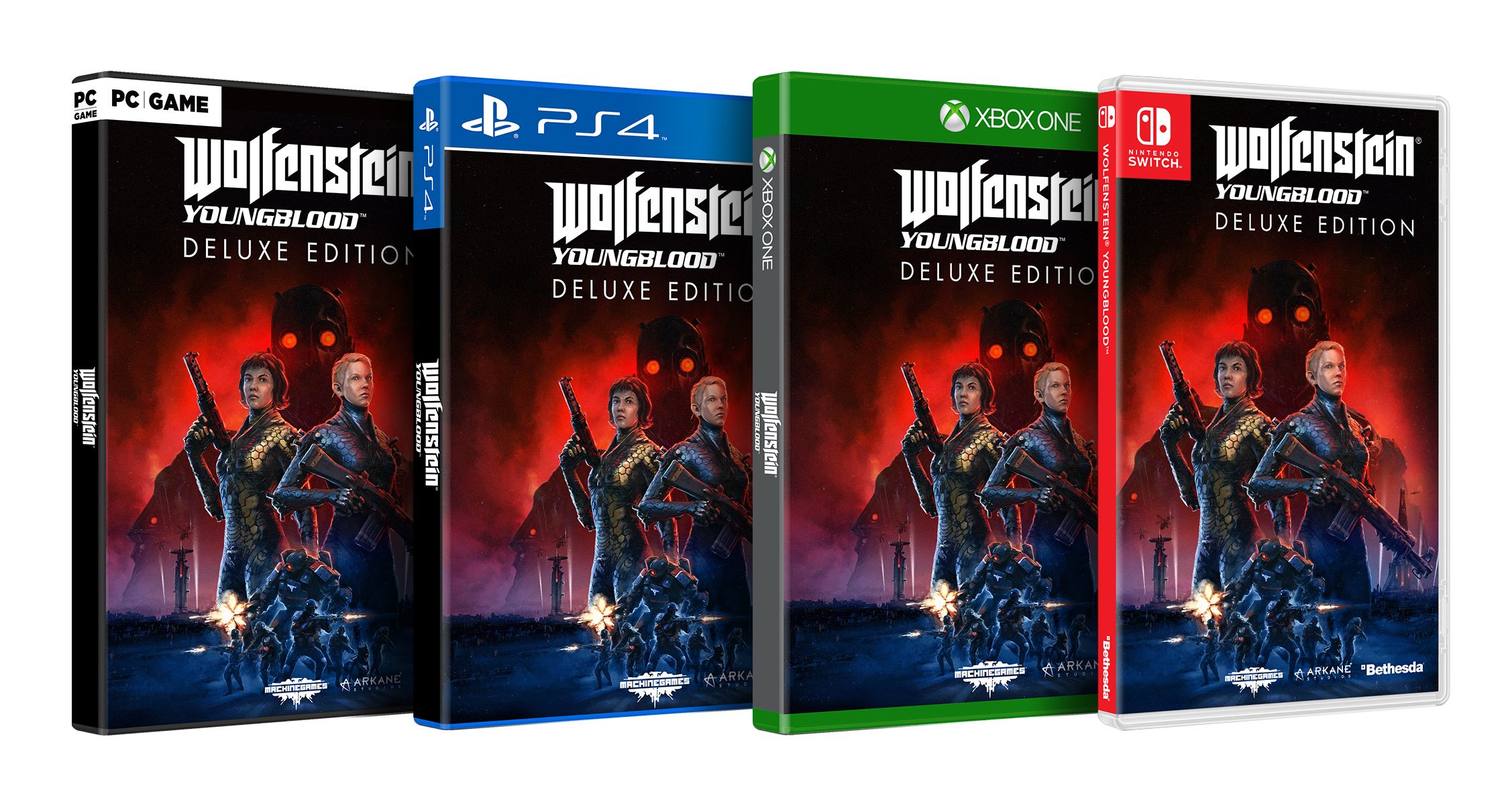 Wolfenstein Youngblood jaquette deluxe