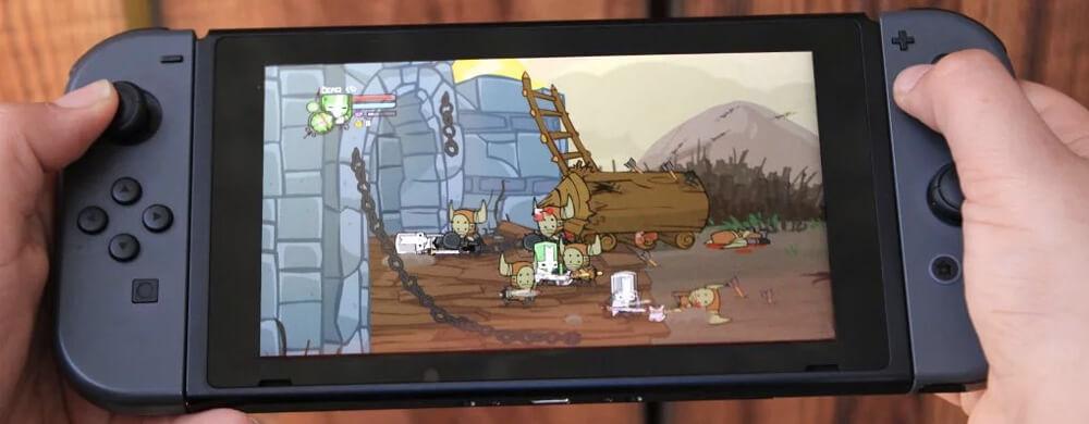 Castle Crashers Remastered nintendo switch