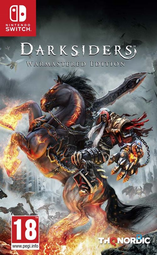 Darksiders Switch Boxart