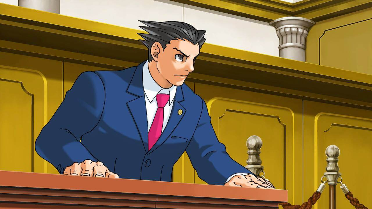 Phoenix Wright Ace Attorney Trilogy Switch