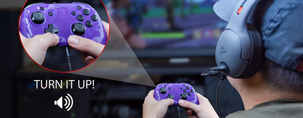 PDP manette audio Switch