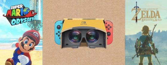 Nintendo Labo Kit VR Zelda Mario