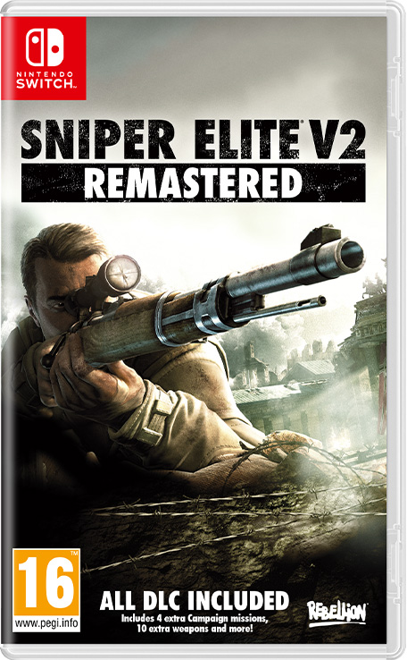Sniper Elite V2 Remastered Boxart
